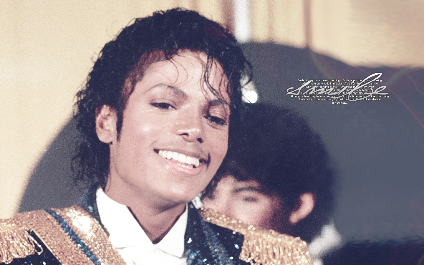 King of smile - Michael Jackson : Desktop and mobile ...