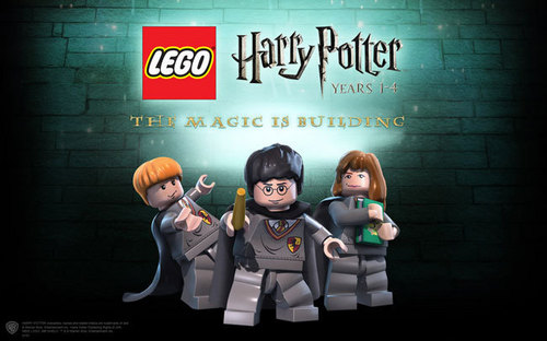 Lego Harry Potter Front Cover