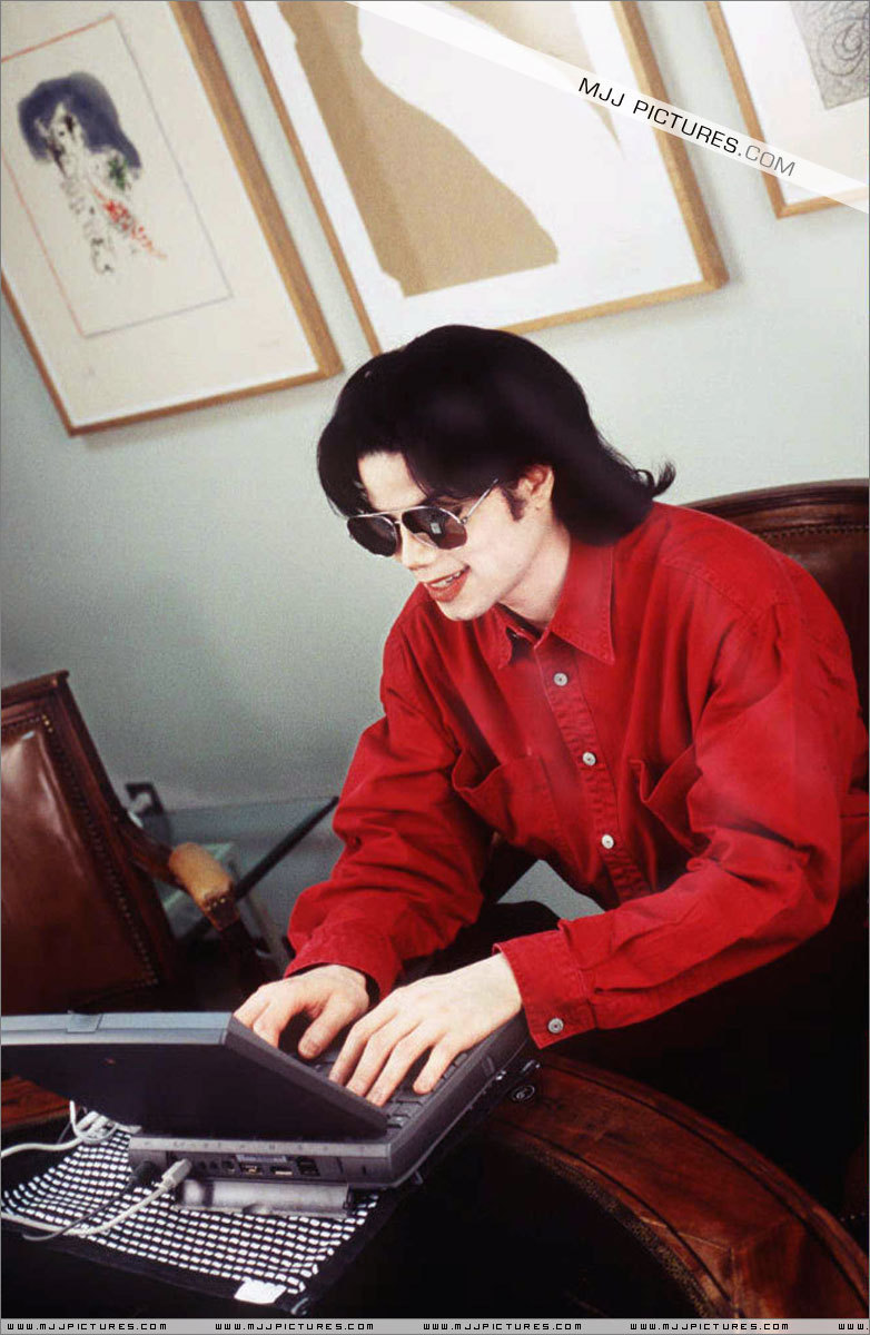 MJ on the internet....
