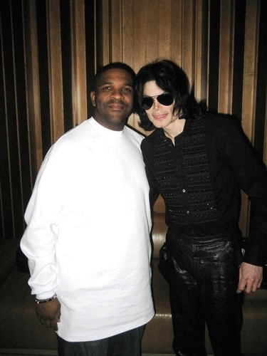 MJ recording...