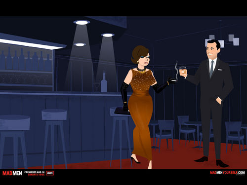 Mad Men Yourself - mad-men Fan Art