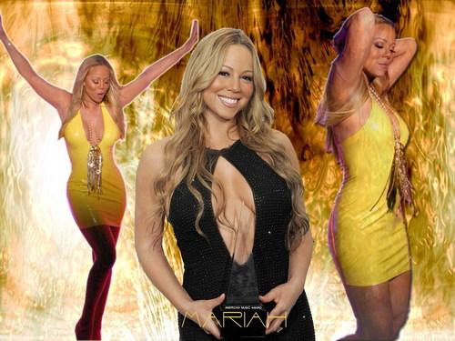 Mariah kertas dinding