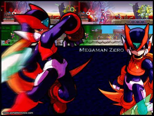 Megaman দেওয়ালপত্র titled Megaman