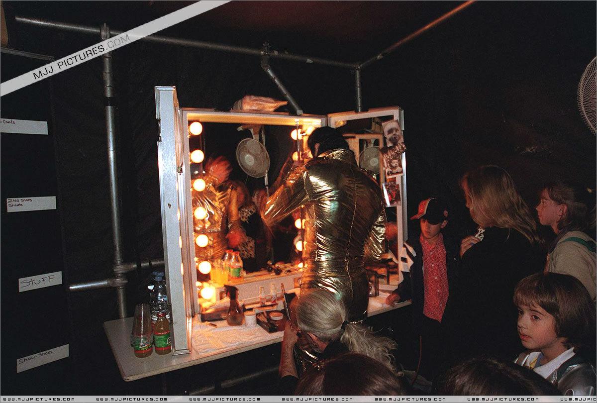 Michael Jackson - backstage