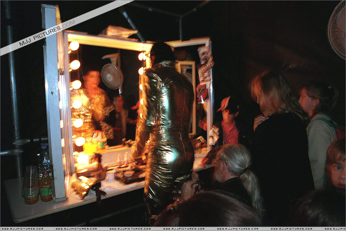 Michael Jackson - backstage