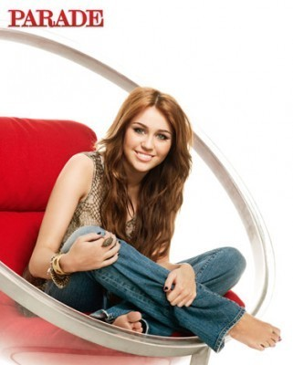 Miley Cyrus at Parade Magazine - miley-cyrus photo