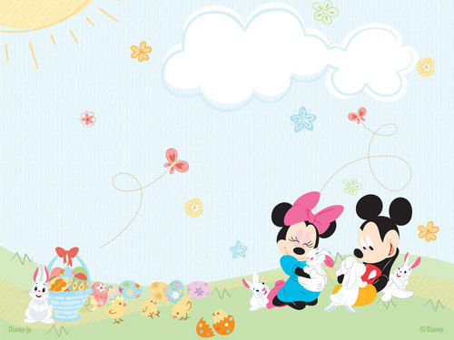 Minnie&Mickey - disney Wallpaper