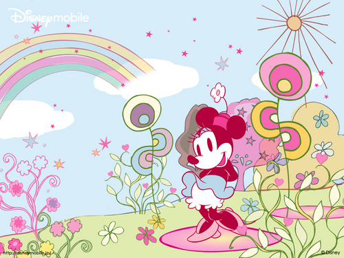 Disney wallpaper called Minnie