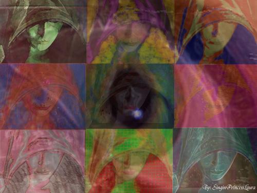 Mother Confessor (pop art)