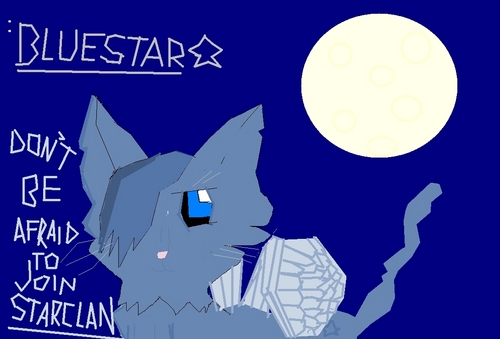 My Bad Drawing of Bluestar