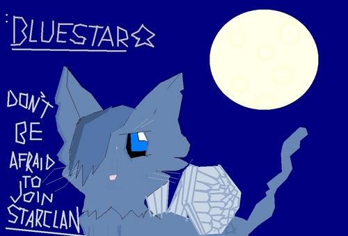 My Bad Drawing of Bluestar