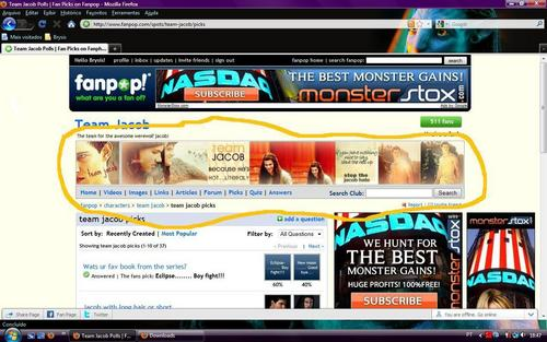 My icon&banner in Team Jacob´s spot *PROUD*