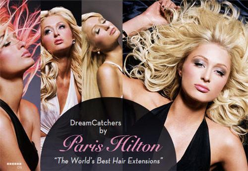 Paris' hair extensions