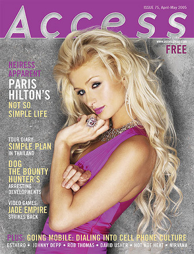 Paris' magazine covers