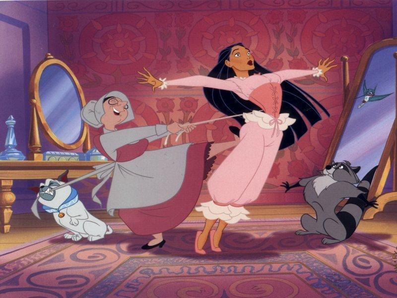 disney's princess pocahontas Move over pocahontas, disney's first latina princess, sofia, is here.