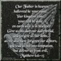 The Lords Prayer - jesus fan art