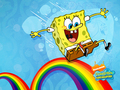 Rainbow - spongebob-squarepants wallpaper
