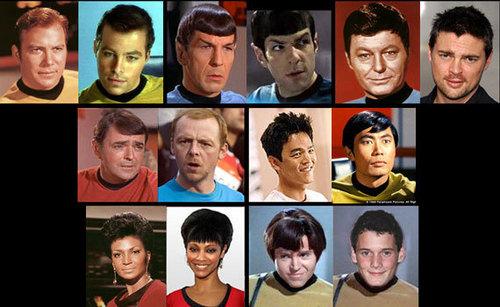 Re-imagining stella, star Trek