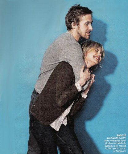 Ryan Gosling & Michelle Williams Sundance 2010 Photoshoot - michelle-williams Photo