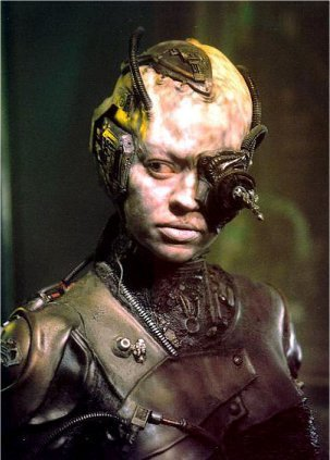 Seven of nine as Borg