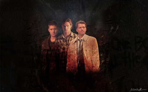Supernatural wolpeyper titled Supernatural