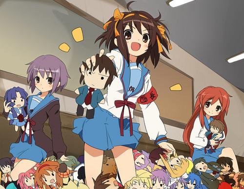 Suzumiya Haruhi and kanon
