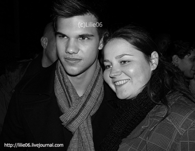 Taylor Lautner fan Encounter in Paris