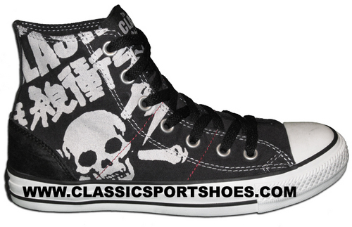 The Clash Converse Shoes