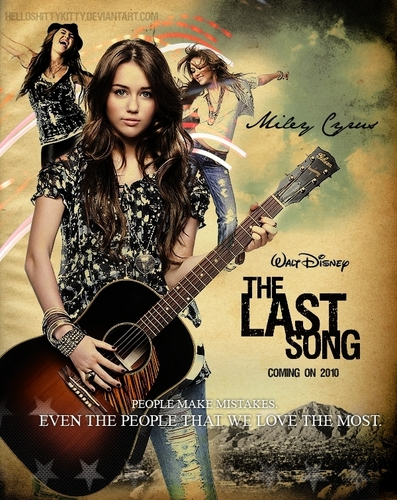 The Last Song wallpaper called The Last Song poster