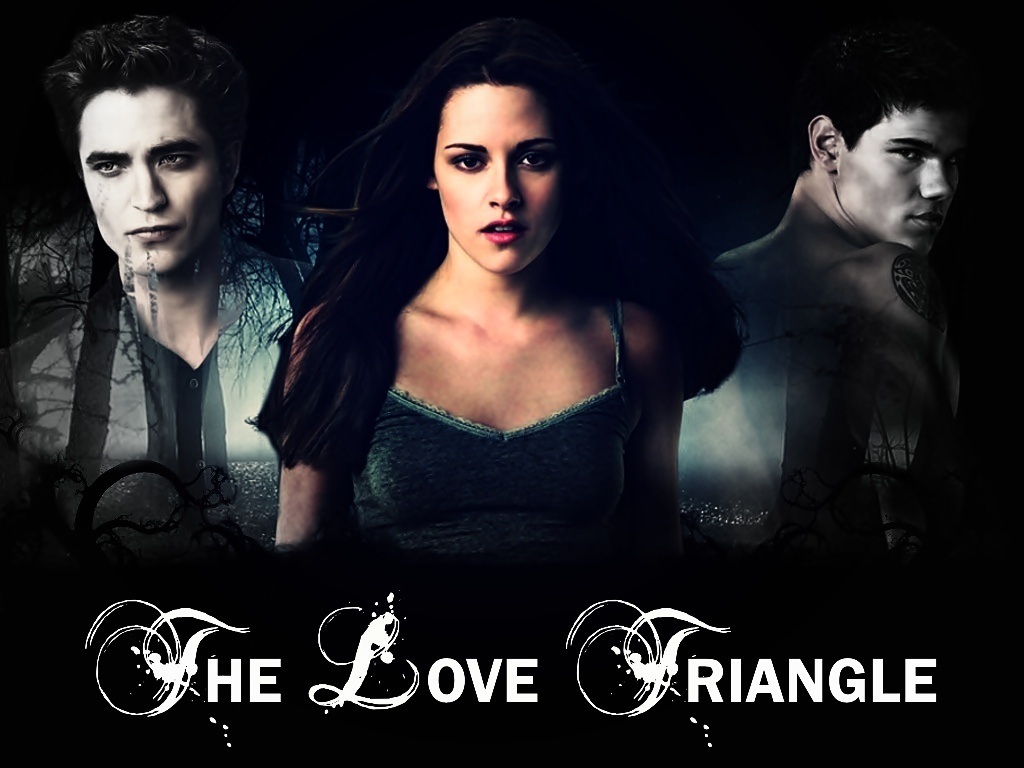 Love Triangle Wallpapers : The Love Triangle - Twilight Series Wallpaper (11581526 ...