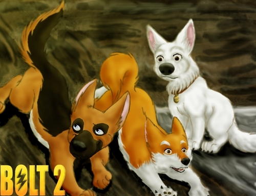Disney's Bolt wallpaper entitled This is the Bolt 2 I Love