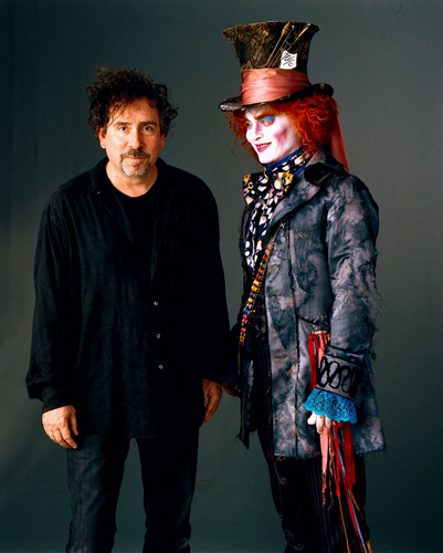Tim burton and Johnny Depp