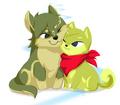 Toon Wolf Link & Tetra