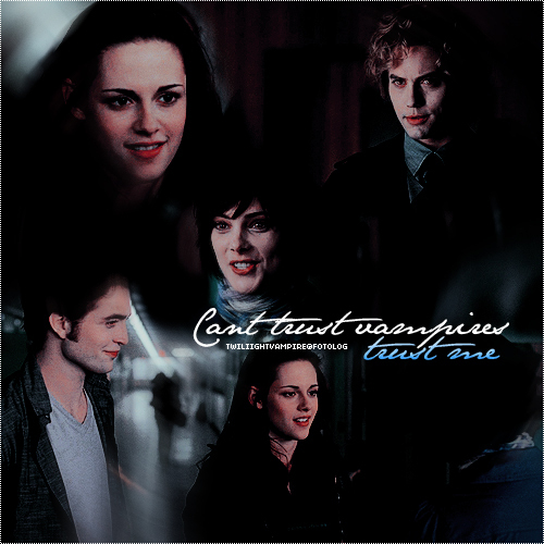 can't trust vampires.