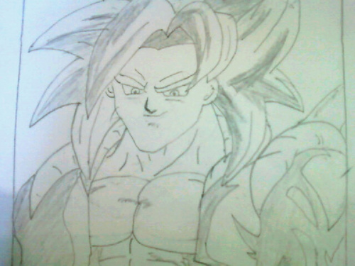deepak,s dbz art - dragon-ball-z Fan Art