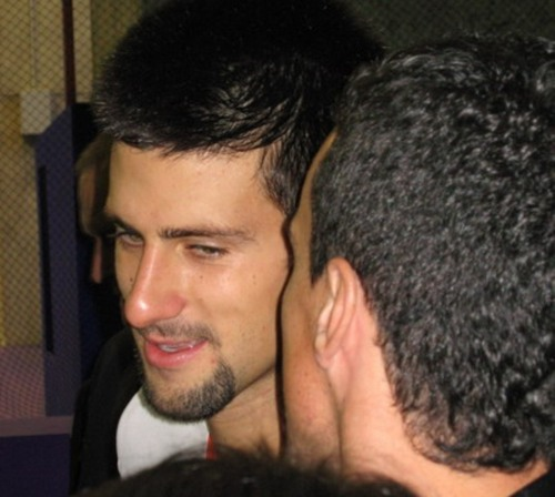 Novak Djokovic wallpaper titled djoko gay baciare !!!!!!