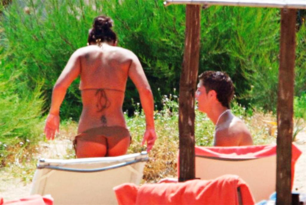 ronaldo and  Nereida Gallardo ass
