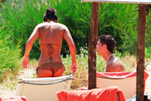 ronaldo and  Nereida Gallardo ass