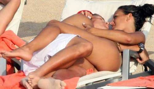 ronaldo and Nereida Gallardo very hot !