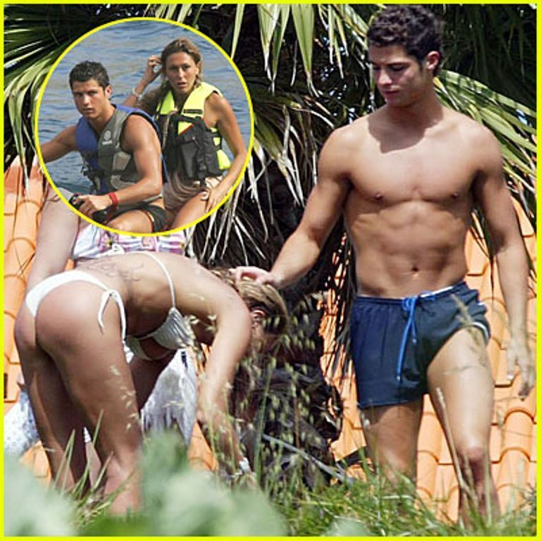 ronaldo and girl bunda 2