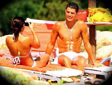 ronaldo and girlfriend