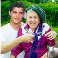 ronaldo and grandmother