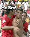 ronaldo embrace - cristiano-ronaldo photo