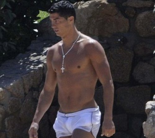 ronaldo transparent swimwear 2