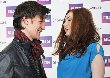 Matt Smith & Karen Gillan wallpaper entitled <3