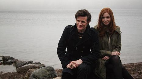 Matt Smith & Karen Gillan Обои called <3