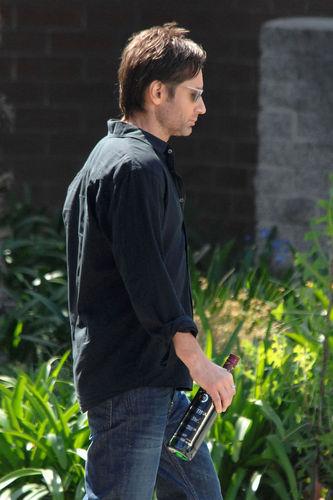19/04/2010 - Californication Set David and Evan Handler