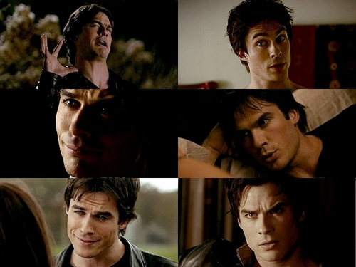Damon Salvatore wallpaper entitled 7. Priceless facial expressions