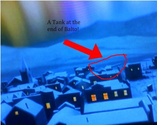A tank on Balto?