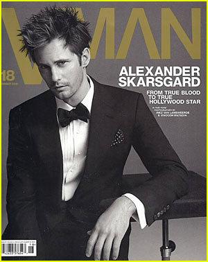 Alexander Skarsgard: VMAN Cover Guy